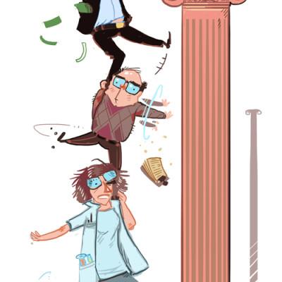 Forsker, Byråkrat og Finansmann jobber sammen om EU-midler